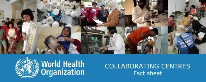 COLLABORATING CENTRES Fact sheet